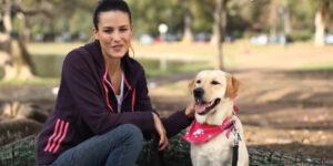 La ayuda de un perro les cambió la vida